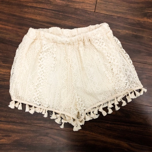 Lush Pants - Lush Lace Shorts NWT
